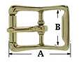 Brass-imitation-roller-buckle-secondary